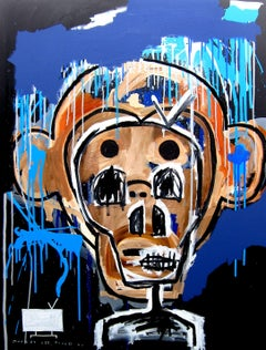 Monkey see, monkey do (imitator), Mixed Media on Canvas