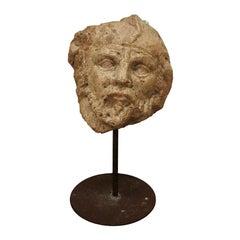 """Cameron"" Mythological Head Sculpture by Félix Pascua"