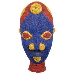 Cameroon Bamun African Beaded Head