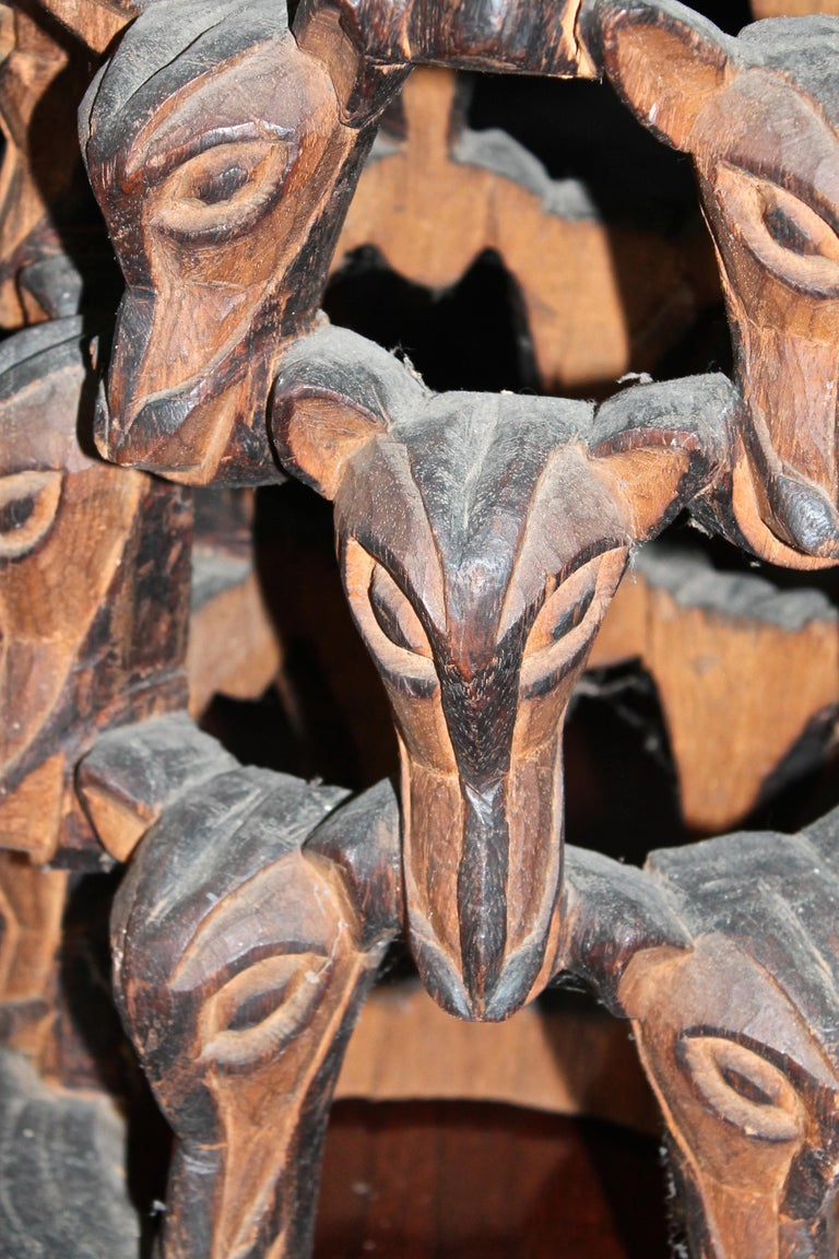 Carved Cameroon