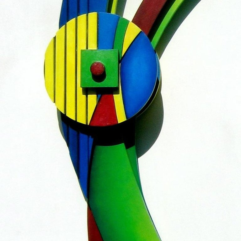 DANCER - Abstract Geometric Sculpture by Camey McGilvray