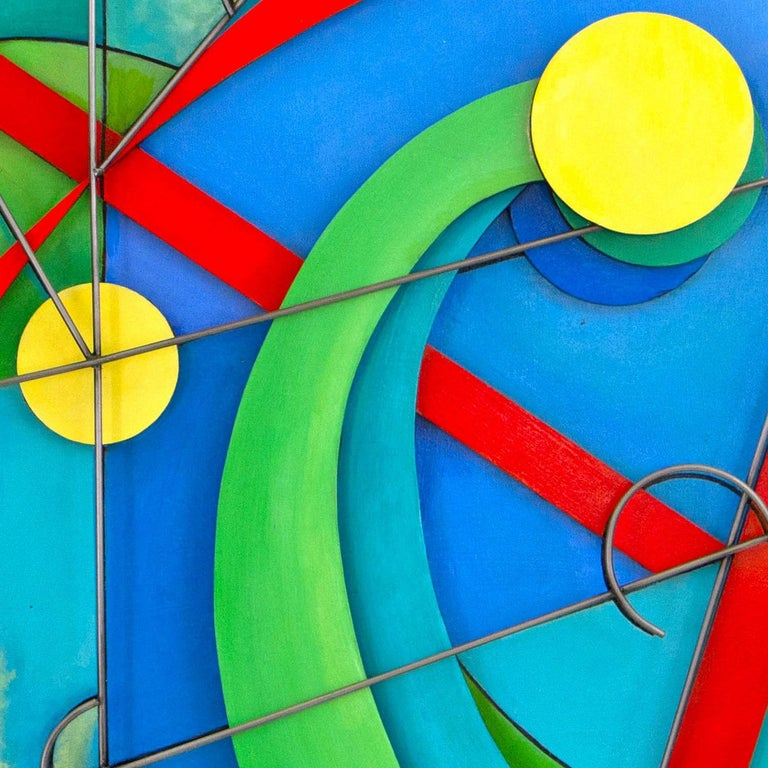 SEVEN MOONS - Abstract Geometric Sculpture by Camey McGilvray