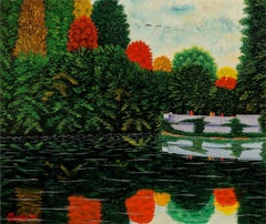 Reflets d'Automne  Autumn Reflections - Perls Galleries