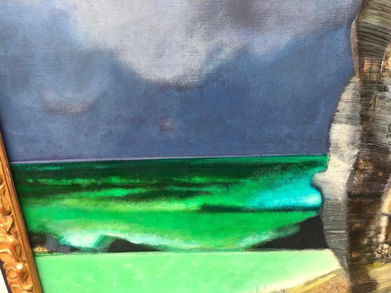 French Camille Hilaire 'La grande falaise' For Sale