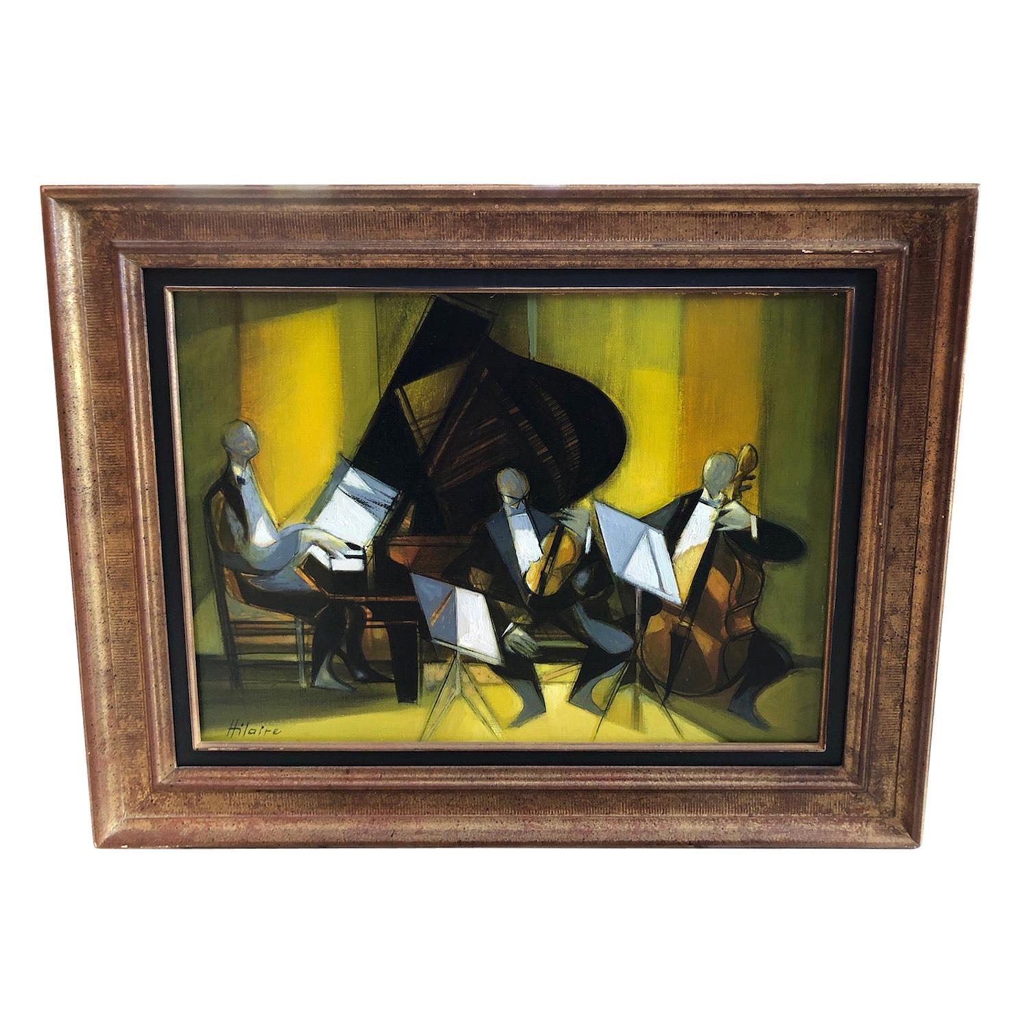 """Camille Hilaire '1916-2004' """"Orchestra Chamber"""""""