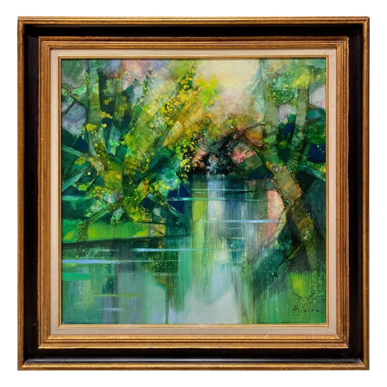 """Camille Hilaire '1916-2004' """"The Pond of Ville d'Avray"""" For Sale"""