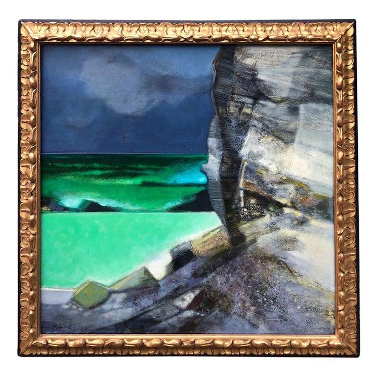 Camille Hilaire 'La grande falaise' For Sale