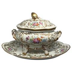 Camille Le Tallec Handpainted Porcelain Tureen