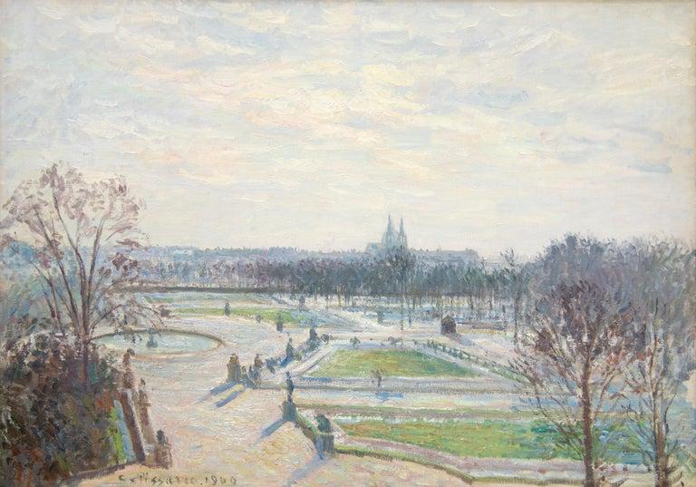 <i>Le jardin des Tuileries, après-midi, soleil</i>, 1900, by Camille Pissarro