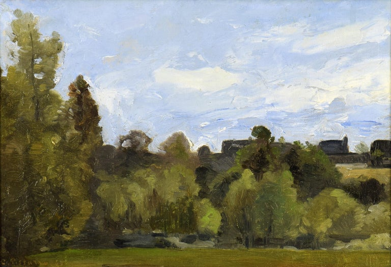 Camille Pissarro Landscape Painting - Lisière du Bois