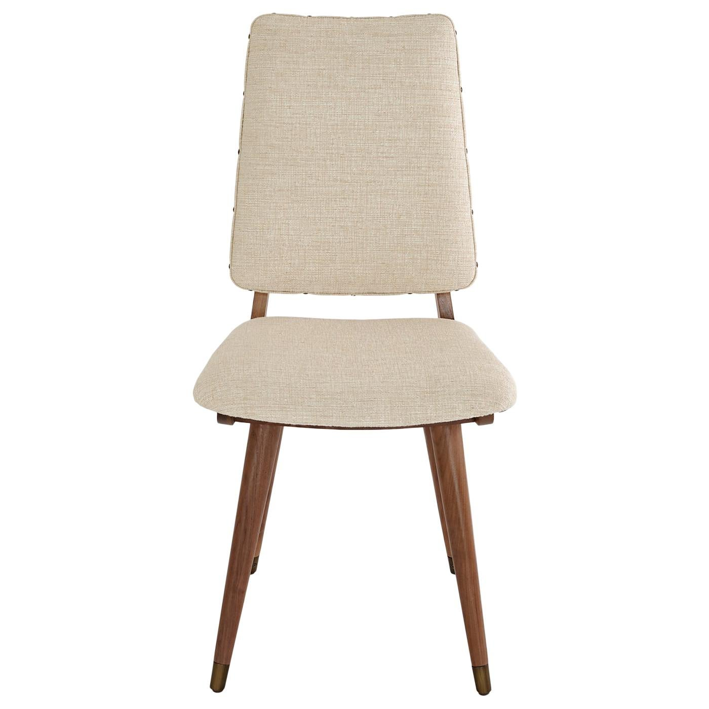 Camille Walnut Dining Chair