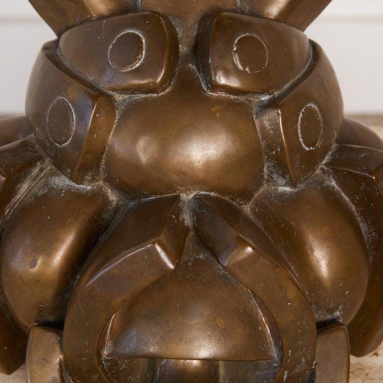 Camilo Otero Bronze Abstract Sculpture For Sale 1