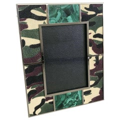 Camoflauge Shagreen Photo Frame by Fabio Ltd