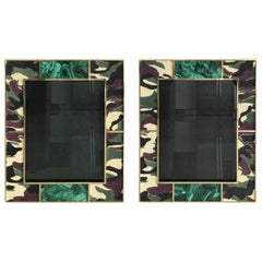 Camoflauge Shagreen Photo Frames by Fabio Ltd