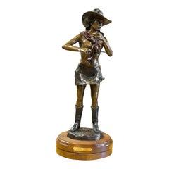 """Camp Cook"" Bronze by Broshears"