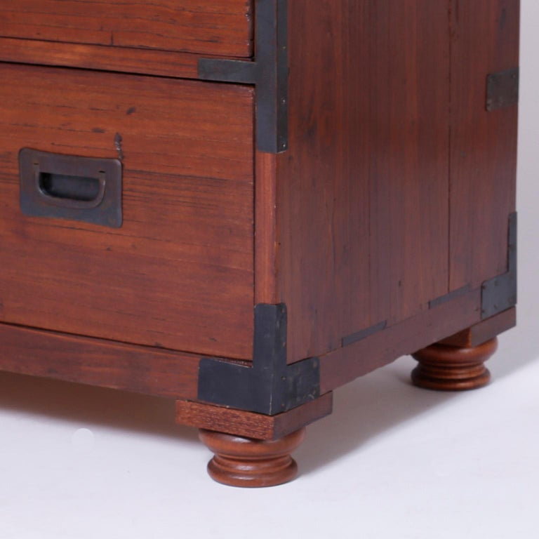 Campaign Chest of Drawers For Sale 1