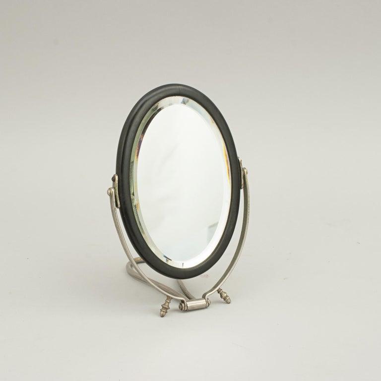 English Campaign Mirror in Case For Sale