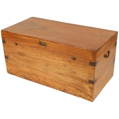 Campaign Style Camphor Wood Trunk