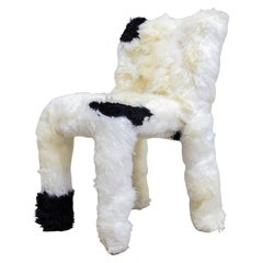 "Campana Brothers, ""Chica Chair"", Black and White Wool, 2017"
