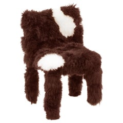 "Campana Brothers, ""Chica Chair"", Brown and White Wool, 2017"