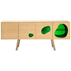 Campana Brothers Rare Sideboard Prototype Aquario II Glass and Wood by BD