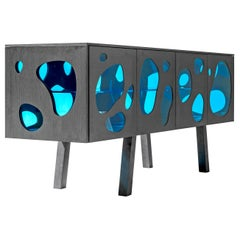 Campana Brothers Sideboard Aquario Prototype Glass and Wood by BD