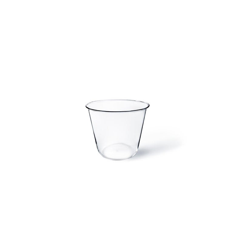 Campana kleine Vase oder Eiskübel in Glas geblasen in einer Form von Aldo Cibic entworfen 3