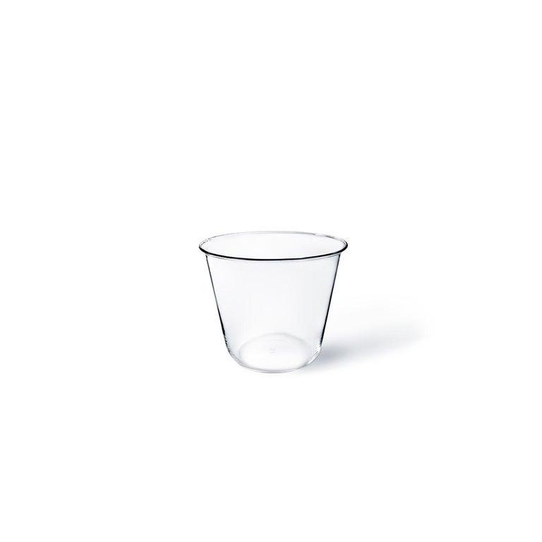 Campana kleine Vase oder Eiskübel in Glas geblasen in einer Form von Aldo Cibic entworfen 4