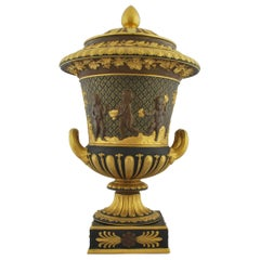 Campana Vase, Gilt and Bronzed, Wedgwood, 1880