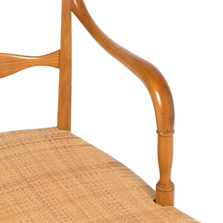 Modern Campanino Chaise Lounge by La Sedia Di Chiavari For Sale