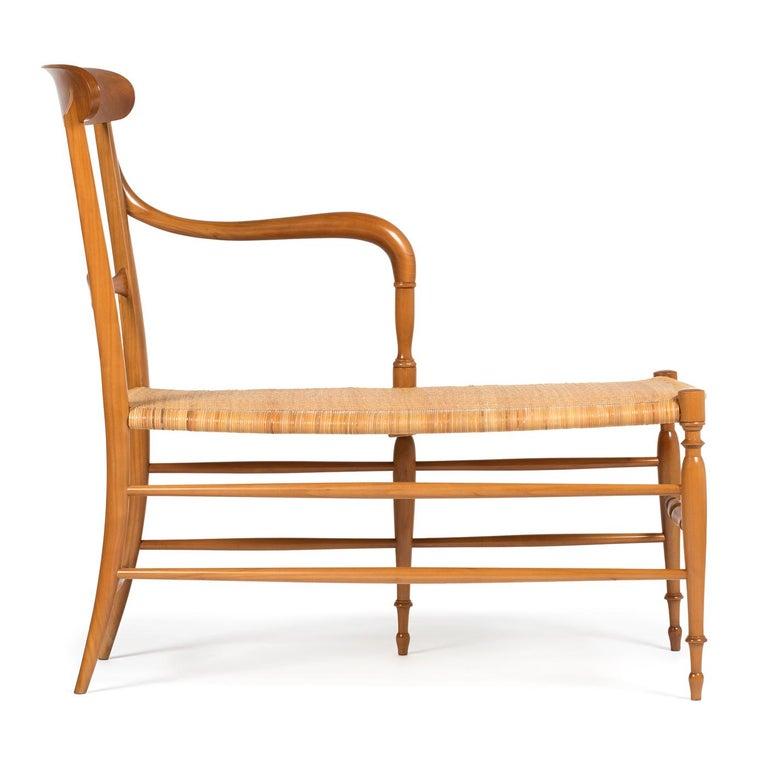European Campanino Chaise Lounge by La Sedia Di Chiavari For Sale