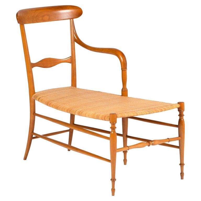 Campanino Chaise Lounge by La Sedia Di Chiavari For Sale
