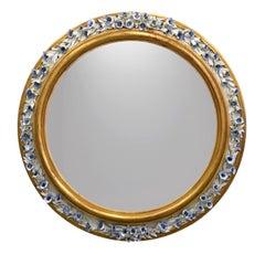 Campanule Round Mirror