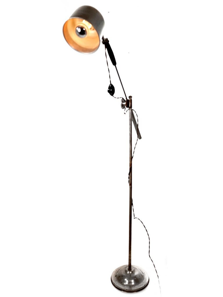 American Campbell Floor Lamp For Sale