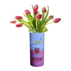 Campbell's Soup Can Vase after Andy Warhol