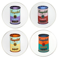 Campbell's Soup Dinner Plates, after Andy Warhol