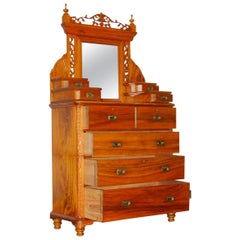 Camphor Wood Campaign Dressing Chest