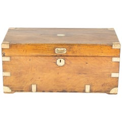 Camphor Wood Trunk with Hinged Lid