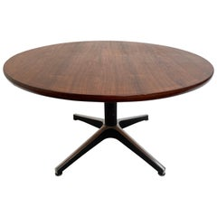 Campo & Graffi Adjustable Height Dining Table, 1959, Both Signed and Published
