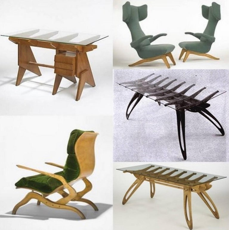 Campo & Graffi Dining Set Comprising 6 Chairs & Matching Table, 1958, published For Sale 10