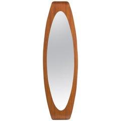 Campo & Graffi Oval Plywood Wall Mirror
