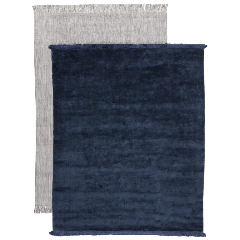 For Sale: Blue Campo Rug by CC-Tapis