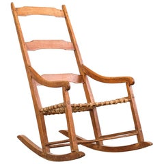 Canadian 19th Century Primitive Rocking Chair