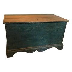 Canadian Blanket Box in Original Paint