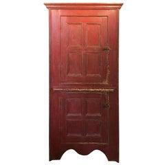 Canadian Painted 2-Door Cupboard