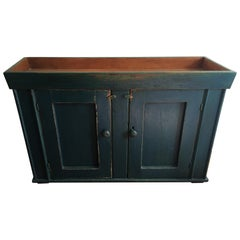 Canadian Two Door Painted Dry Sink