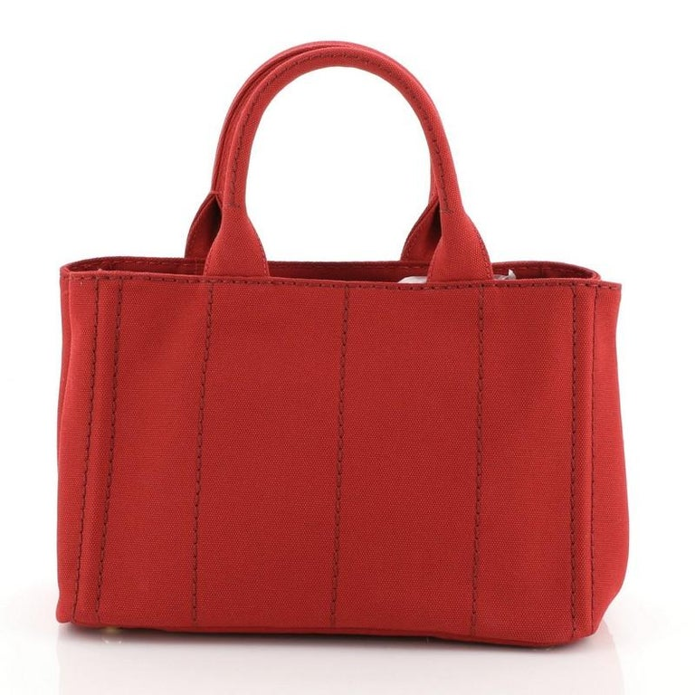Canapa Convertible Tote Canvas Mini In Good Condition For Sale In New York, NY