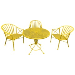 Canary Yellow Garden Set by Salterini