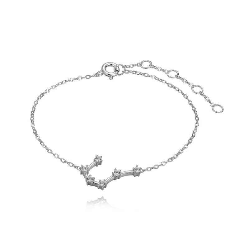 Modern Cancer Constellation Anklet For Sale