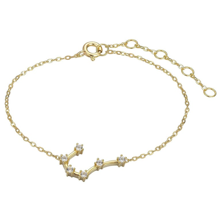 Cancer Constellation Anklet For Sale